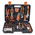 Juegos de reparación para el hogar de 120 piezas, herramientas de mano, destornilladores eléctricos, juegos de brocas, alicates de llave, enchufes, caja de Kits de herramientas de combinación para el hogar