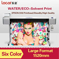 Eco solvent outdoor vinyl banner printer with 1.52m