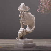 Chinese Neoclassical Classy Ceramic Innovative Pure Handmade Unique Art Character Sculpture Home Office Decorations Ornaments