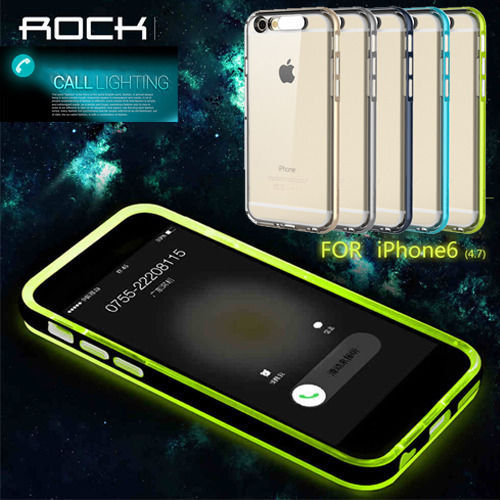 iphone 5s led case rock incoming call lighting led remind tpu 14822