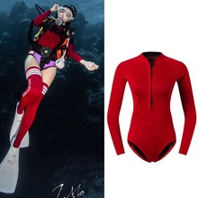 Swim Surf Dive 2mm Neoprene Wetsuit Long Sleeve Rash Guard Swimwear