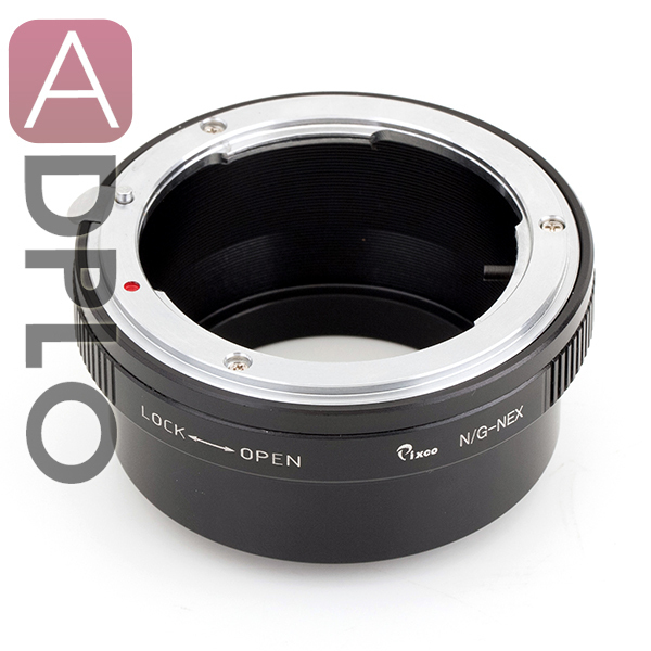 Anillo adaptador de lente traje para Nikon G a Sony NEX para 5 T 3N NEX-6 5R F3 NEX-7 VG900 VG30 EA50 FS700 A7 A7s A7R A7II A5100 A6000