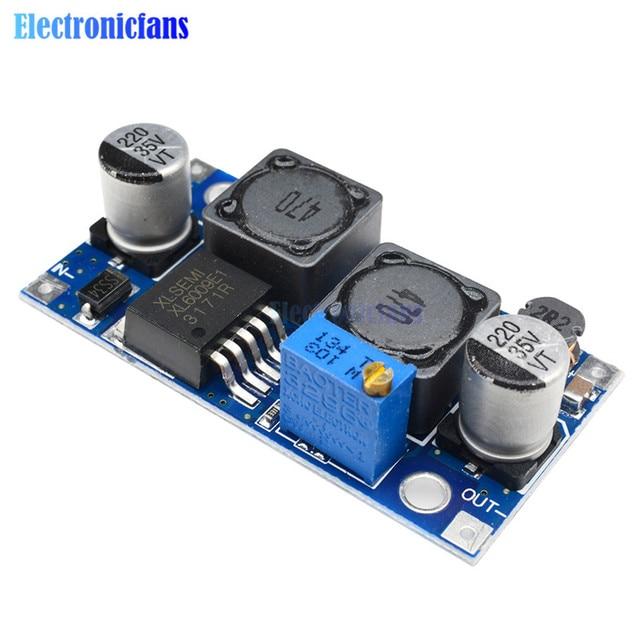 dc dc auto boost buck adjustable step down converter xl6009 module rh aliexpress com Voltage Converters 220 to 110 Voltage Converter 48