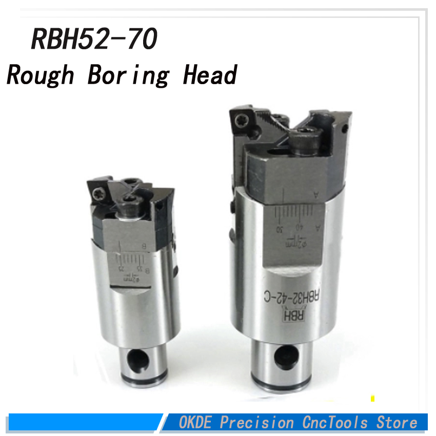 High precision high-accuracy RBH Twin bit RBH 52-70mm Twin-bit Rough Boring Head CCMT090304 used for deep holes boring tool New ccmt120408 high precision rbh90 122mm twin bit rough lbk6 boring head used for deep holes accuracy used for deep holes