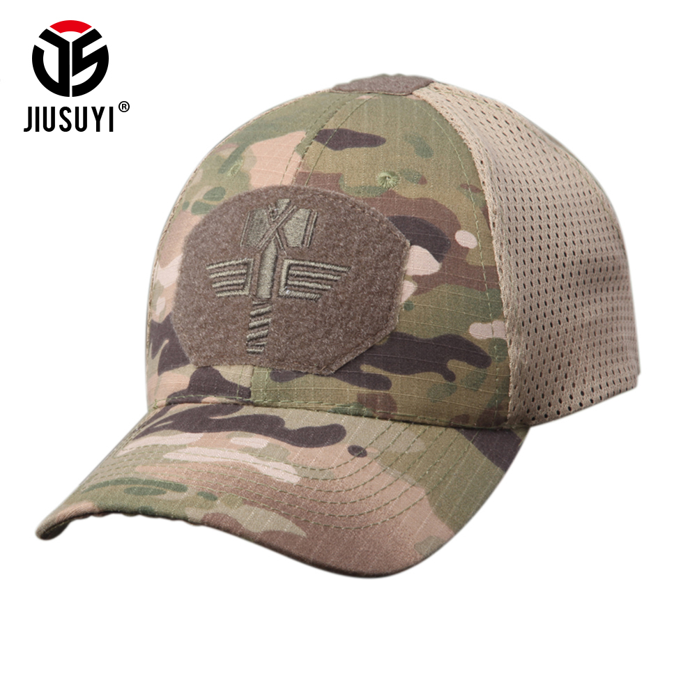 Multicam CP Camouflage Breathable   Baseball     Caps   Hats Tactical Hip Hop Adjustable Bicycle Sun Block UV Protection for Men Women