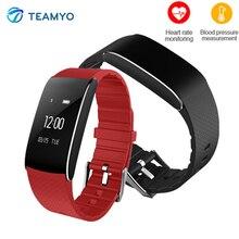 Teamyo A86 фитнес-браслет трекер Водонепроницаемый IP67 часы кровяное давление кислорода сердце оценщик монитор Смарт Браслет