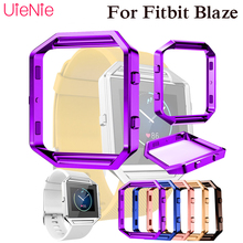 Stainless Steel metal case For Fitbit Blaze smart watch case accessories For Fitbit Blaze dial protection Hard Protective film crested for fitbit blaze frame replacement stainless steel case activity tracker smart watch accessories