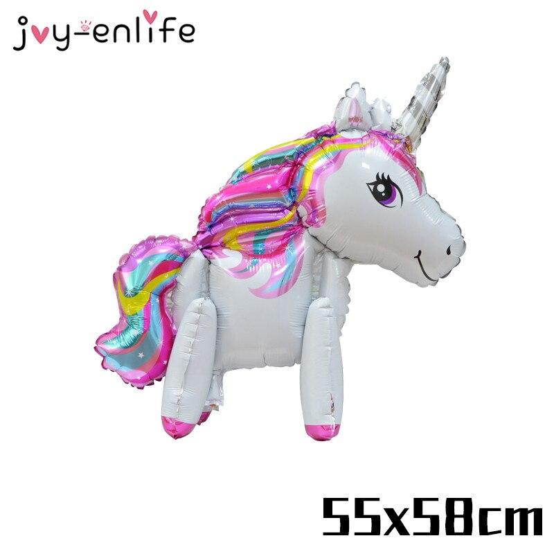 Joy Enlife 1 Pcs Licorne Ballons Joyeux Anniversaire Party
