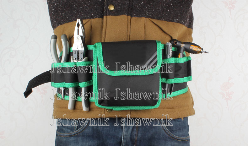 Les outils multifonctions d'électricien de ménage du japon de 5 pièces/ensemble incluent la pince de 8 pouces et le sac à outils