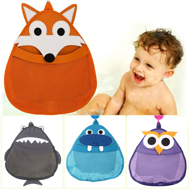 Kids Bath Toy Organizer Animal Modelling Children's Bath Storage/Cartoon Storage Bin/Baby Storage Bags