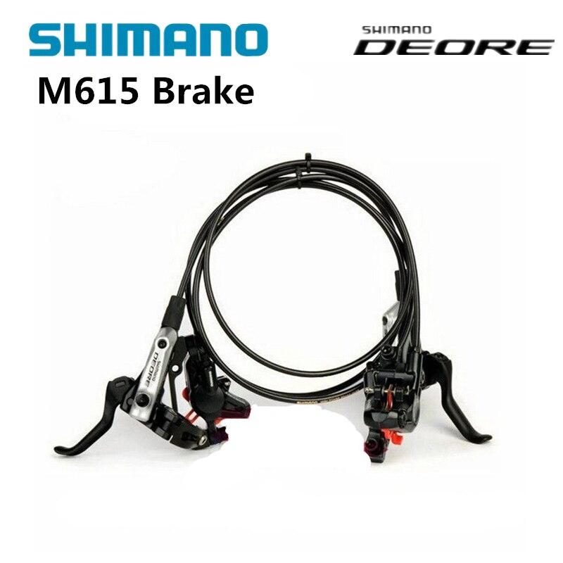 Shimano BR BL DEORE M615 Leva del Freno & Pinza Per Il Idraulico Freno A Disco della bici della bicicletta olio parti del freno