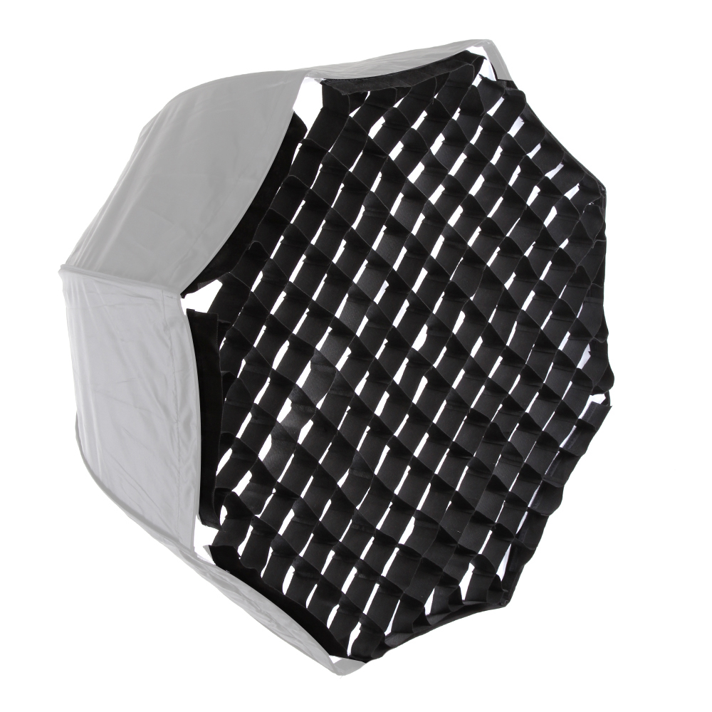 "37 Octagon Honeycomb Grid Softbox With Flash Mounting For: Octagonal Honeycomb Grid Mount For 80cm/32"" Photo Studio"