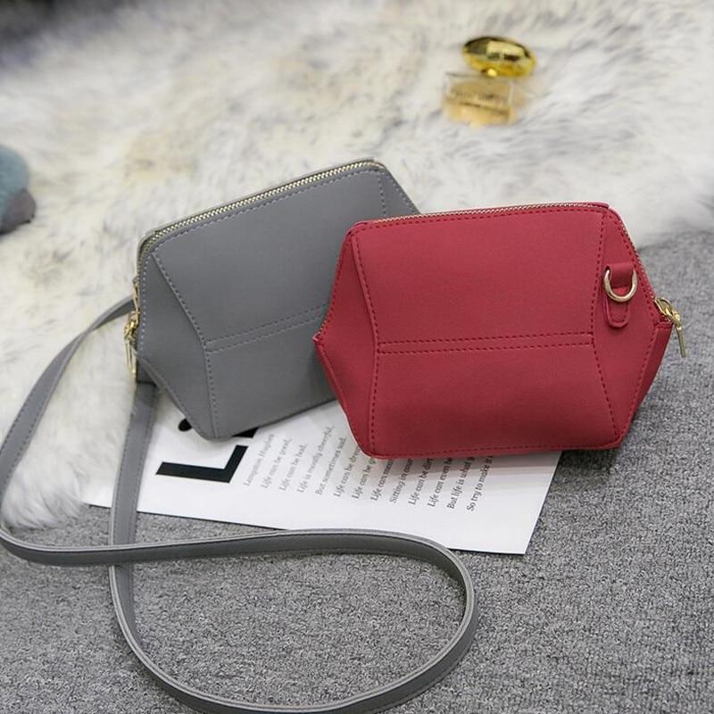 BARHEE Simple Mini Women Crossbody Tas Grijs Designer Messenger Bag - Handtassen - Foto 4