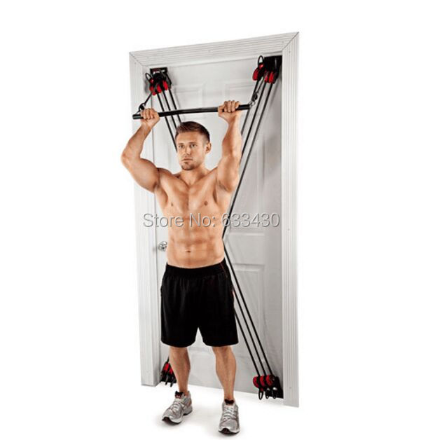 WEIDER FACTOR X Universal Door Pull Rope Chest Resistance Fitness Training Free shipping weider 190 tc