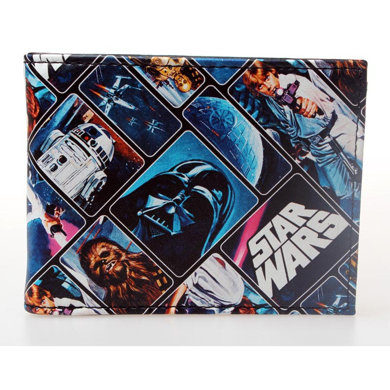Star Wars wallet Darth Vader animated cartoon wallet purse young students personality wallet DFT-1380 все цены