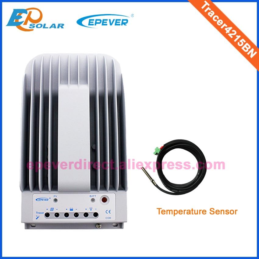 Солнечный Батарея 12 В 24 В power bank регулятор Tracer4215BN MPPT Бесплатная доставка контроллер с датчиком температуры 40A 40 ампер