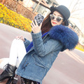 YOUMIGUE Autumn Winter Jacket Women Parkas for Coat Fashion Female Really raccoon fur collar Hood fur liner abrigos mujer casaco