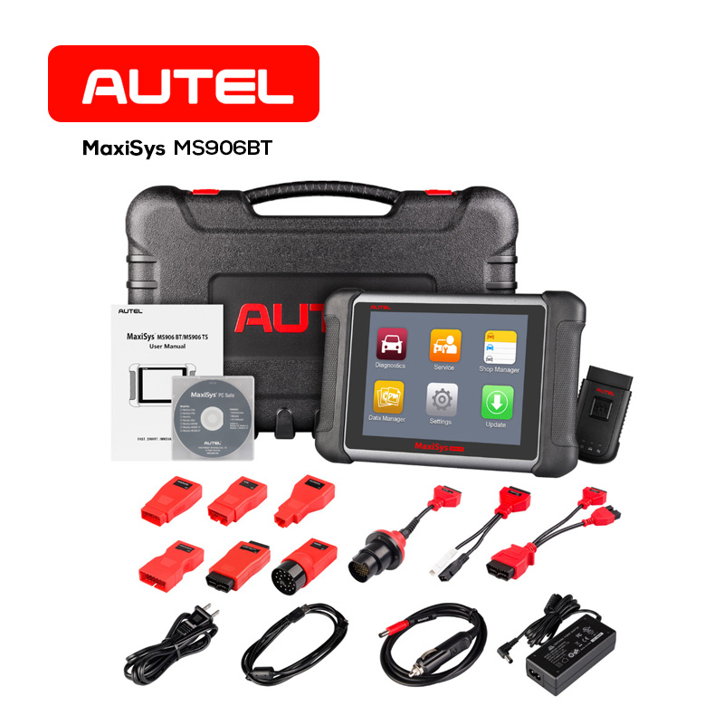 Autel MS906BT Wireless Car Diagnostics Scanner Tool OBD2 Auto Diagnostic Tools ECU Coding Tester for BMW