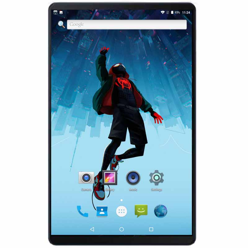 Super 10 Inch Tablets Octa Core 4GB RAM 64GB ROM 1280X800 2.5D IPS Screen Dual SIM Card Android 8.0 Pad With 64GB SD Card Gift