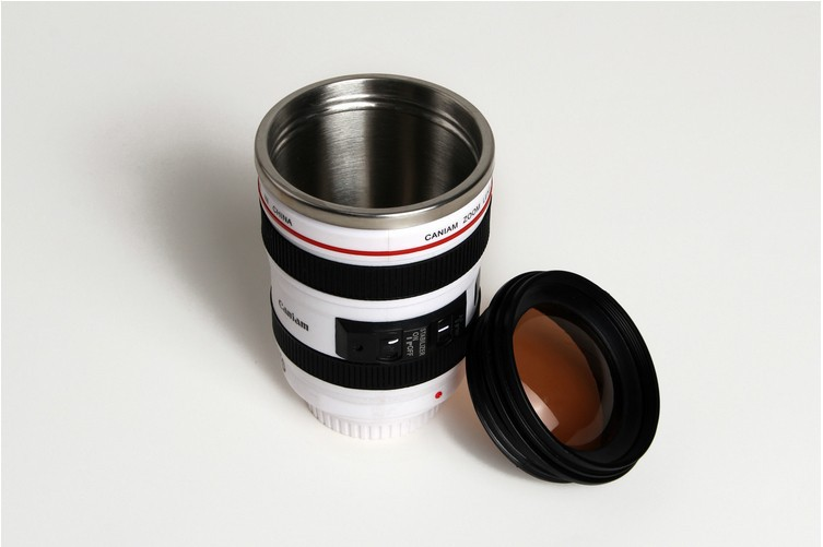 24-105mm 1:1 Camera Lens Travel Mug With Lid 12oz/400ml