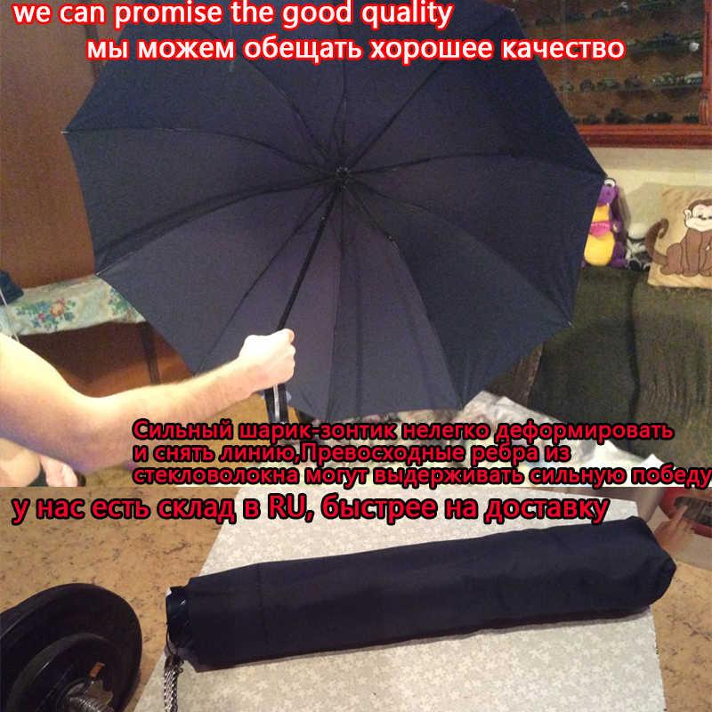 Paraguas grande de calidad superior de 130CM paraguas de lluvia para mujer a prueba de viento paraguas grande para hombres para mujeres sol 3 paraguas plegable parapluio grande