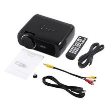 BL-80 Mini WIFI LED Projector HD 1080p Video Media Player Support HDMI AV USB Portable Home Theater For Android 4.4