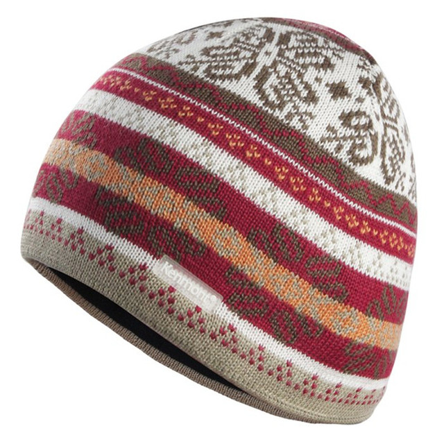 Winter Men Women Winter  wool beanie hat, jacquard knit winter hat  KM 0626