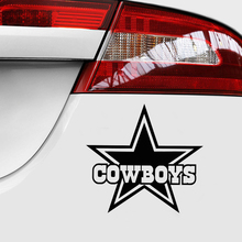 Cowboys Star Products Twins Baby on Board Car Sticker Decals