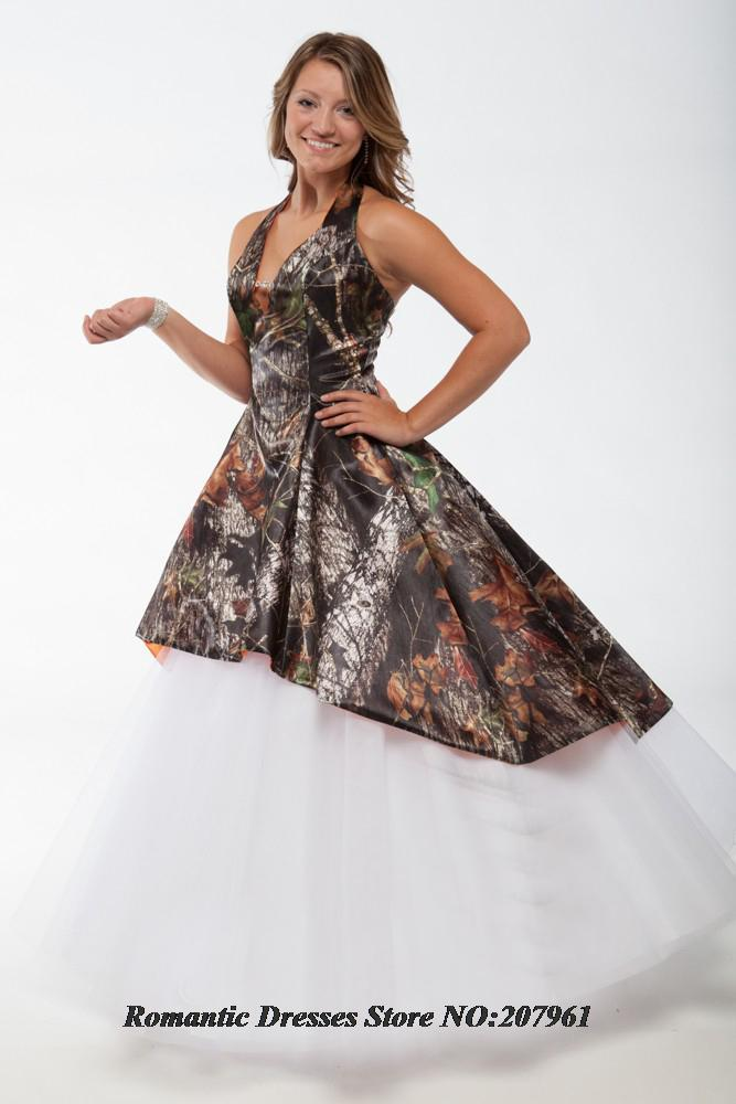 Buy romantic 2016 new hot sale camouflage for Where to buy camo wedding dresses