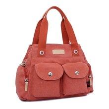 Femmes à la mode toile occasionnels sacs à main fourre – tout sac pour les adolescentes Big grande sacs à bandoulière mesdames Messenger Bag