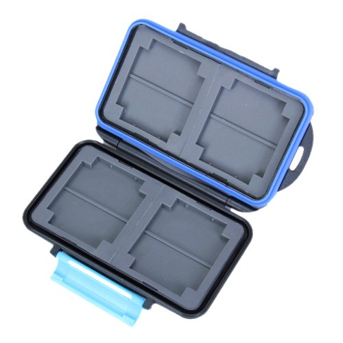 PROMOTION! Hot Memory Card Carrying Case Holder Hold 4 CF or 8 SD
