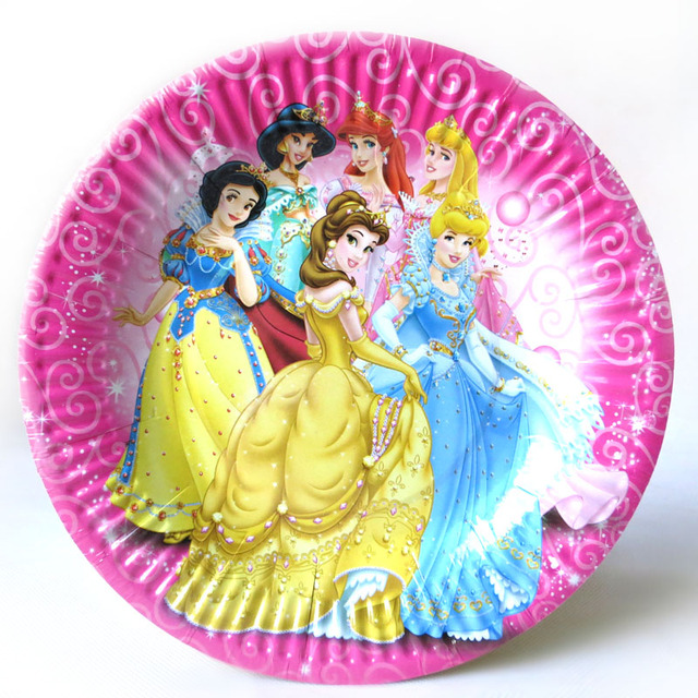 E co-frie ndly disposable paper plate birthday supplies byelaya child birthday party supplies