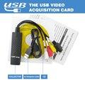 DVD DVR USB 2.0 Захват Видео Адаптер Конвертер Кабель С Стерео Аудио RCA S-Video Вход для Портативных ПК