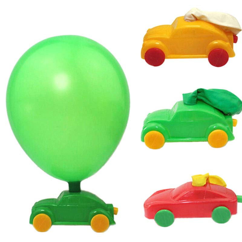Steady 1/5/10pcs Kids Science Experiment Toys Diy Ballon Car Build Kit Toy An88 Home