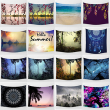 Hot sale  large different styles wall hanging tapestry home decoration tapiz pared L 200*150cm M 150*130cm