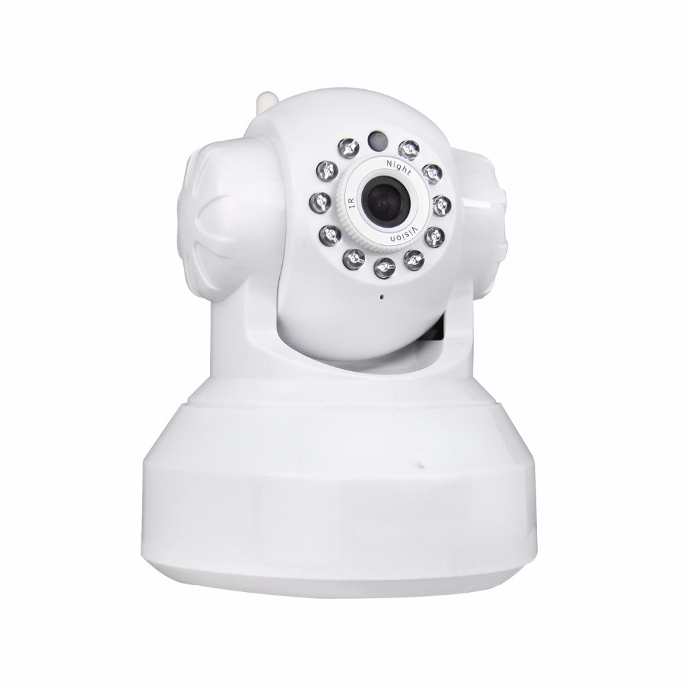 SACAM HD 720P 1MP Mini Dome Camera Indoor WIFI IP CCTV Smart Camera Infrared Pan/Tilt Two Way Audio P2P Support 32GB Card image