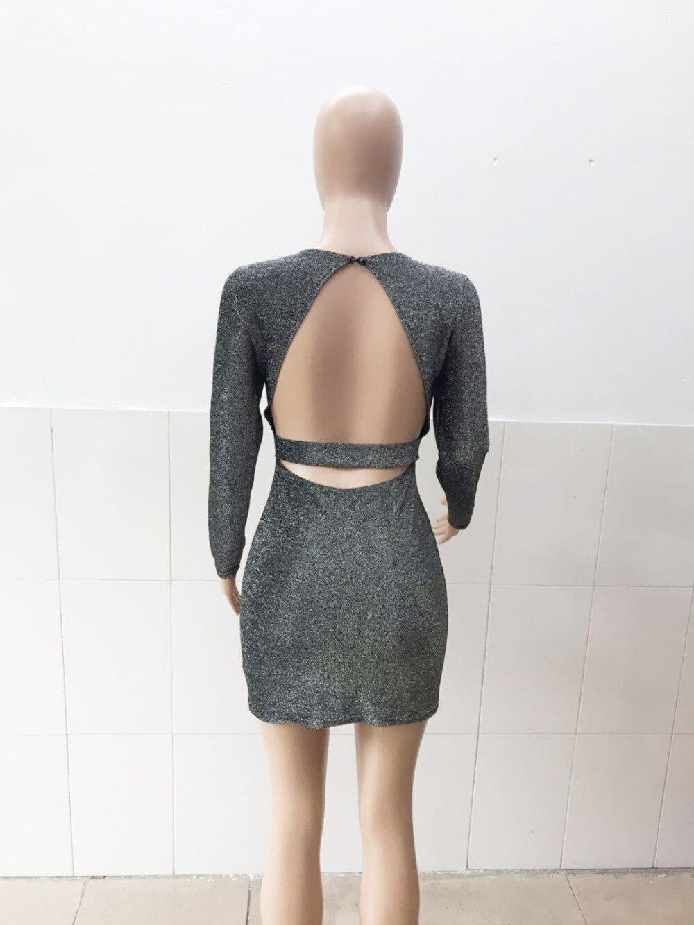 2019 Bright Silk Shiny Spring One Shoulder Halter Split Women Wrap High Waist Pencil Dress Sexy Club Bodycon Party Dresses