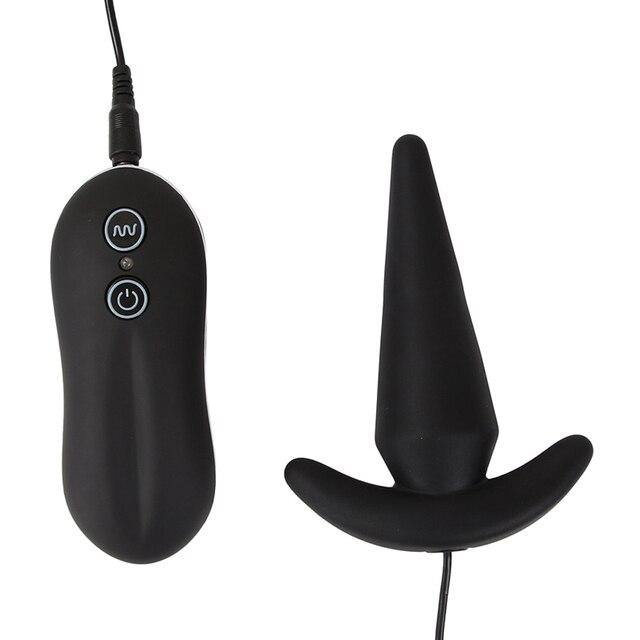 Vibrating anal plug