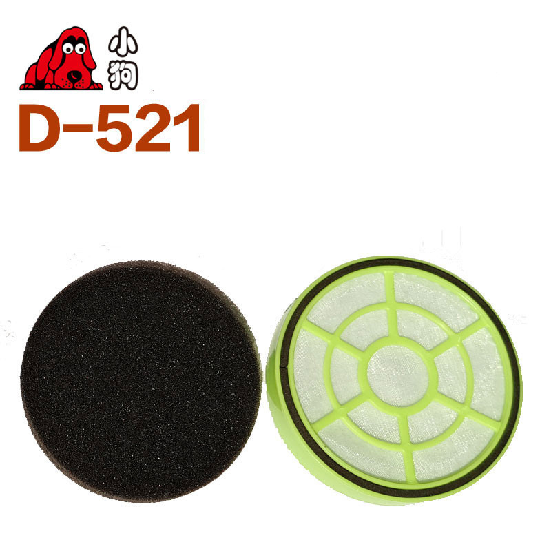 1pcs Robot Replacement D-521 HEPA Filter Vacuum Cleaner Parts 1pcs ef141 hepa filter electrolux robot vacuum cleaner parts zb29 series zb2901 zb2902 zb2932 zb2933 zb2941 zb2942