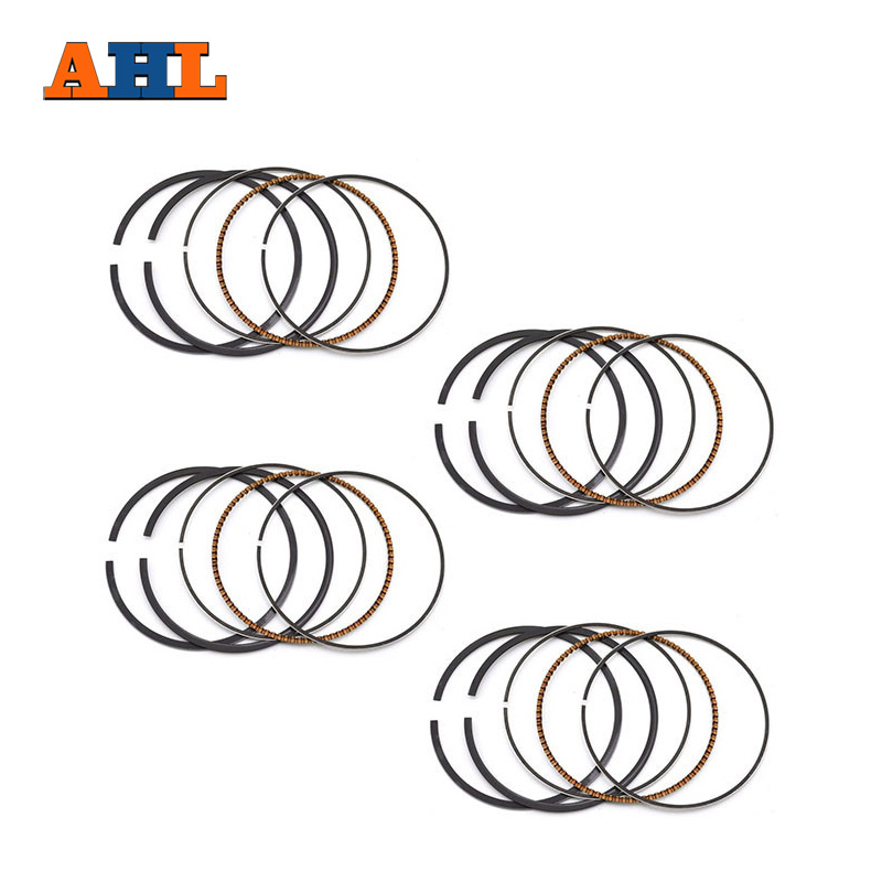 STD <font><b>52mm</b></font> <font><b>Piston</b></font> <font><b>Rings</b></font> for Suzuki GSX400 INAZUMA 400 GK79A Katana 400 <font><b>PISTON</b></font> <font><b>RING</b></font> 4PC image