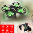 RC Mini Quadcopter Drone 2.4G 4CH Quadcopter Dron 4 Channels 6-Axis Gyro Helicopters With LED Fresh Light Toys D2