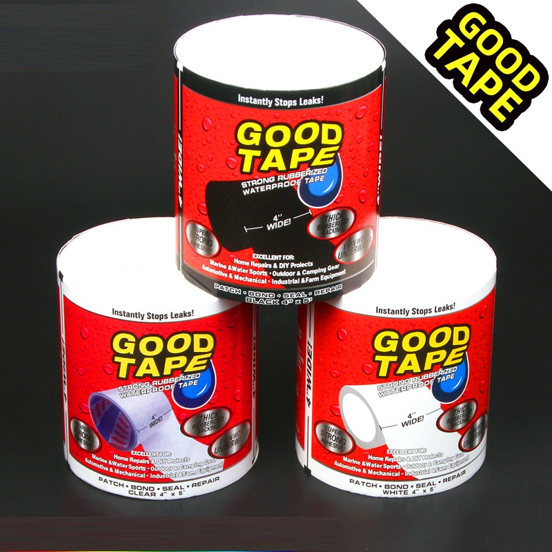 10X Super Fix Tape Waterproof Stop Leaks Seal Repair Tape High Performance Instantly Self Adhesive Tape Emergency Tool dropship(China)