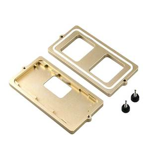Image 5 - Profession Frame mould for iphone X XS XSMAX XR frame laminating moulds glass frame cold glue holding mold SS 037