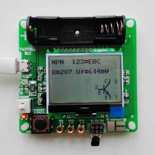 newest version of inductor capacitor resistance ESR meter DIY MG328 multifunction tester|resistance meter|resistance testeresr tester mg328 - AliExpress