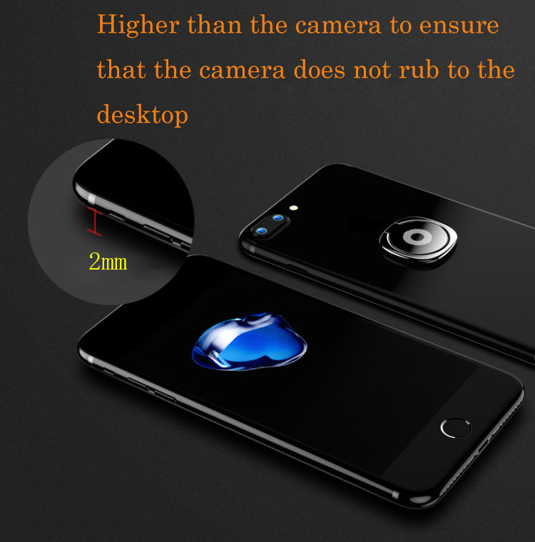 Car Phone Holder Magnetic for your mobile round Tablet table mobile phone stand for iPhone Samsung GPS phone ring holder grip