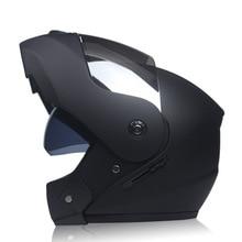 цена на Motorcycle Helmet Flip Up Racing Helmet Double Lens Full Face Safe Helmets Breathable Comfort Off Road ATV Dirt bike MTB Helmet