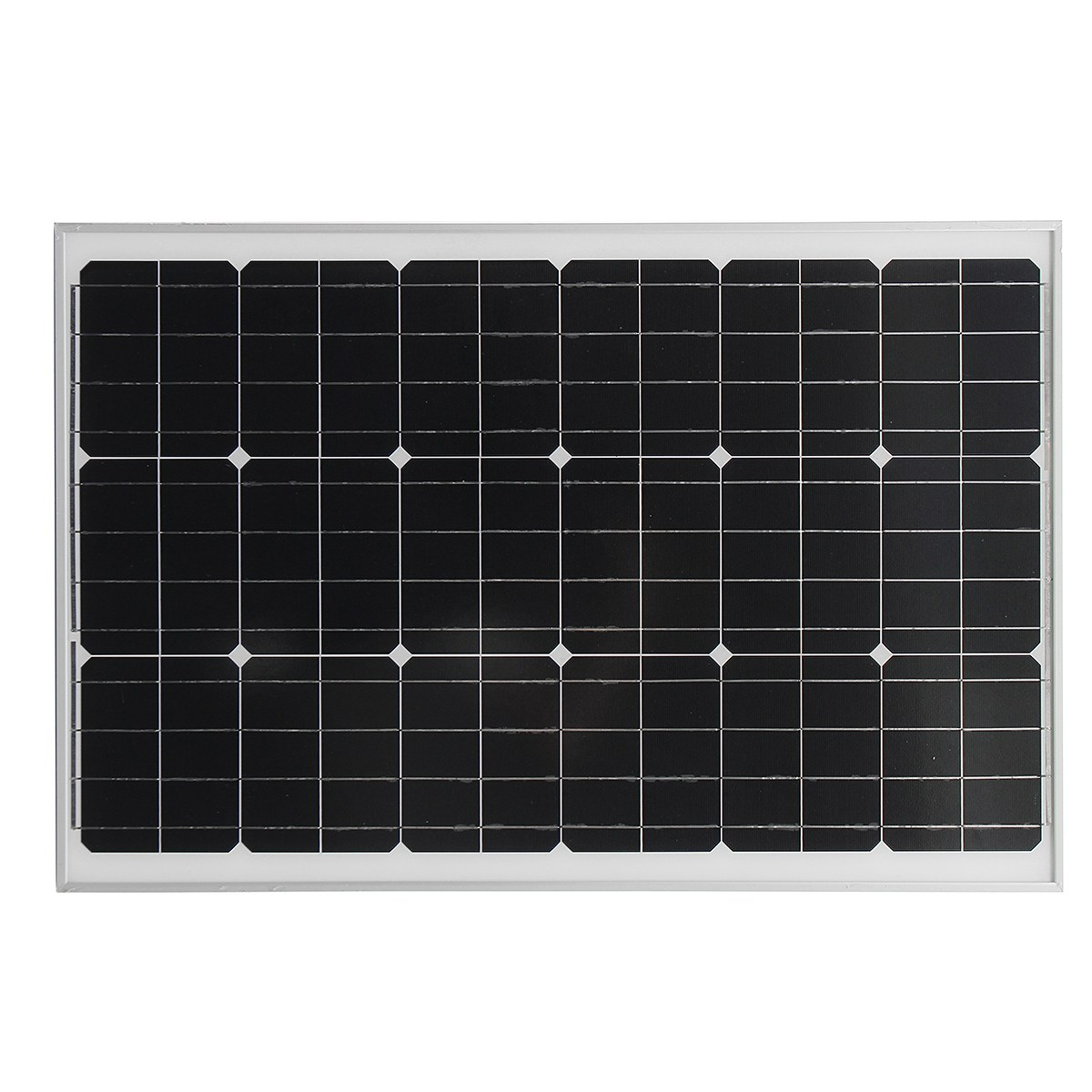 KINCO 60w 18v Solar Panel  High Conversion Efficiency Monocrystalline Silicon Solar System Supply With Glass Bearing Plate sp 36 120w 12v semi flexible monocrystalline solar panel waterproof high conversion efficiency for rv boat car 1 5m cable