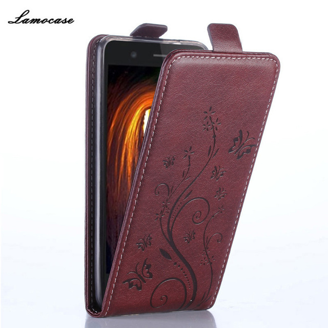 Luxury Leather Case for Sony Xperia M2 Aqua S50H D2302 D2303 D2305 Flip Cover Butterfly Painted Case Wallet Card Slot Phone Bag