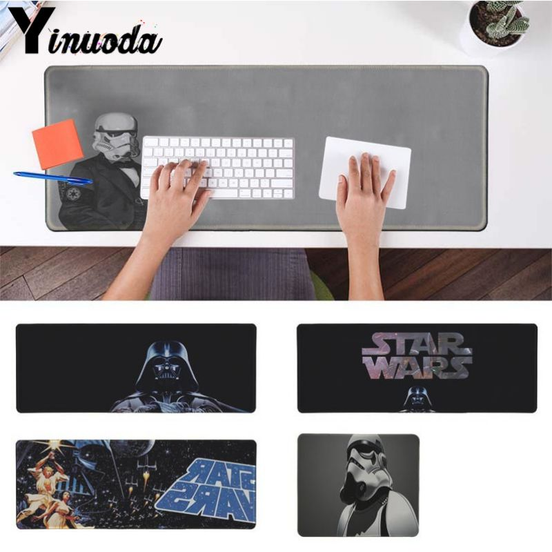 Yinuoda Personalized Cool Fashion star wars Large Gaming Size Mouse Pad Size for 180*220 200*250 250*290 300*900 and 400*900*2mm ...