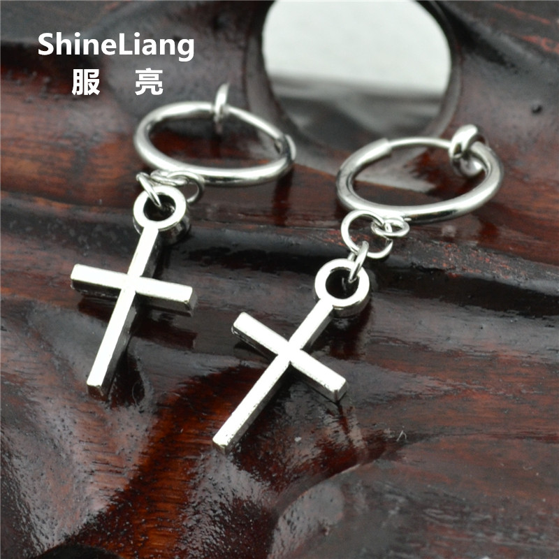 Jinxian Fashion Sun Moon Asymmetric Drop Earrings